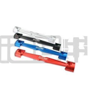 IAG Battery Tie Down for 2008-14 Subaru WRX / STI, 05-09 LGT - Red