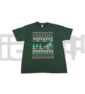 IAG Men's Ugly Christmas Green T-Shirt - Small