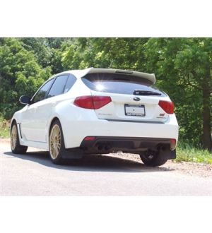 IAG ROCKBLOCKER RED TAIL LIGHT OVERLAY FILM KIT FOR 2008-14 SUBARU WRX & STI HATCHBACK