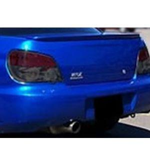 IAG RockBlocker Smoked Tail Light Overlay Film Kit for 2006-07 Subaru WRX / STI