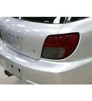 IAG RockBlocker Smoked Tail Light Overlay Film Kit for Subaru 2002-03 WRX Wagon