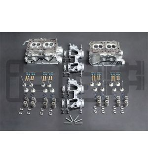 IAG STAGE 4 CNC PORTED HEADS W/ +1MM GSC VALVES FOR 06-14 WRX, 07-19 STI, 06-13 FXT, 07-09 LGT (CAMS / LIFTERS SOLD SEPARATELY)