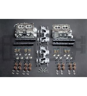 IAG STAGE 5 CNC PORTED HEADS W/ +1MM FERREA VALVES & S3 GSC CAMS FOR 06-14 WRX, 07-19 STI, 06-13 FXT, 07-09 LGT