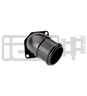 IAG REPLACEMENT BLOW OFF VALVE ELBOW FOR 2002-07 WRX, 2004-20 STI (BLACK FINISH)
