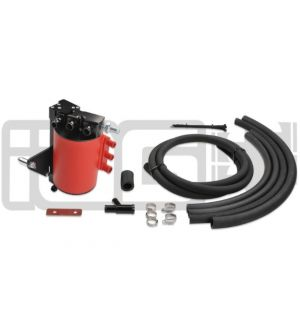 IAG V2 STREET SERIES AIR / OIL SEPARATOR (AOS) FOR 2006-07 SUBARU IMPREZA WRX & 2004-07 STI - RED