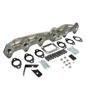 aFe Twisted Steel Header w/ T4 Turbo Manifold 03-07 Dodge Diesel L6-5.9L