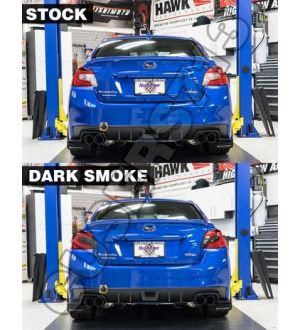 Sticker Fab  SMOKED TAIL LIGHT OVERLAYS (DARK, LIGHT, RED, OR YELLOW) - 2015-2020 WRX / STI