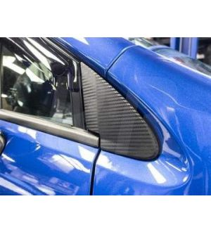 Sticker Fab  3D CARBON FIBER QUARTER MIRROR TRIM OVERLAYS WRX / STI 2015-2020