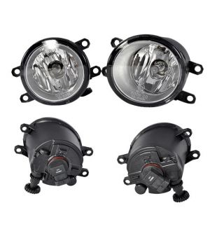 Ikon Motorsports Driver & Passenger Sides Fog Lights Lamps Lexus IS250 IS350 ISF-Style