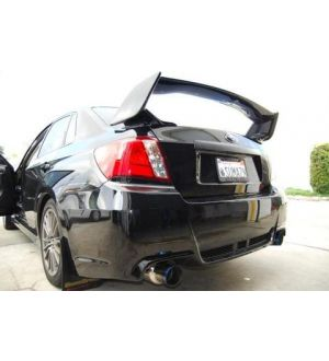 Invidia N1 Cat Back Exhaust Titanium Tips Subaru WRX Sedan 2008-2014 / STI Sedan 2011-2014 / Forester XT 2009-2014