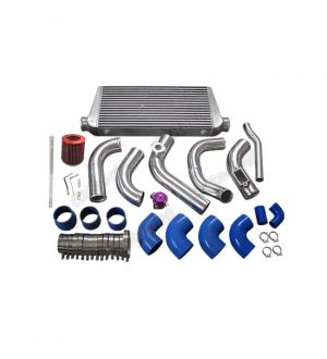CX Racing Intercooler Piping Intake Radiator HardPipe Kit For Single Turbo 2JZGTE 2JZ-GTE 2JZ Swap 240SX S13 S14
