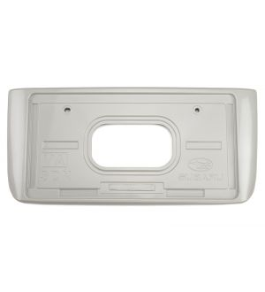 SUBARU OEM PAINT MATCHED JDM REAR LICENSE PLATE HOLDER 2015-2020 Subaru WRX & STI - Crystal White Pearl