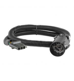 Curt Replacement OE 4-Way Flat Socket (Plugs into USCAR)