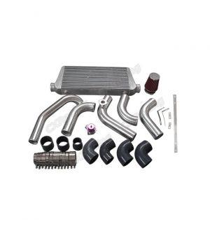 CX Racing Intercooler Piping Intake Kit For 1JZGTE VVTI 1JZ Engine Swap 240SX S13 S14 Stock Turbo