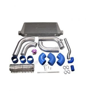 CX Racing Intercooler Piping Radiator HardPipe Kit For 2JZGTE 2JZ-GTE 2JZ Swap 240SX S13 S14 Stock Turbo