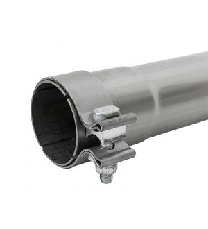 aFe MACH Force-Xp 409 SS Muffler Pipe 2.5in. Inlet/Outlet / 14in. Body / 20in. Length