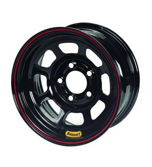 Bassett Racing D-Hole Lightweight Black Powdercoated Wheels L37SH4