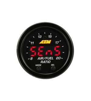 AEM ELECTRONICS X-SERIES WIDEBAND AFR GAUGE W/OBDII CONNECTIVITY