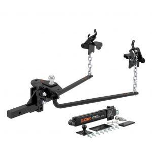 Curt Round Bar Weight Distribution Hitch Kit (10000-14Klbs 31-5/8in Bars)