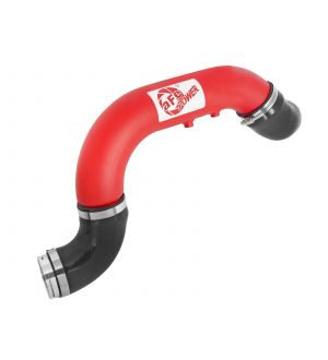 aFe BladeRunner 3in Red IC Tube Cold Side w/ Coupling & Clamp Kit 2016 GM Colorado/Canyon 2.8L