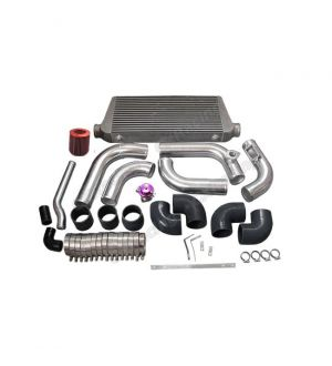 CX Racing Intercooler Piping Intake Radiator HardPipe Kit For Stock Turbo 2JZGTE 2JZ-GTE 2JZ Swap 240SX S13 S14
