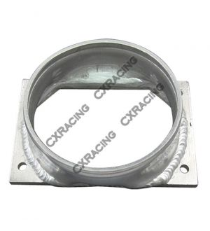 CX Racing Aluminum MAF Adapter Flange for EVO 7 8 9