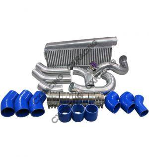 CX Racing Intercooler + Piping Kit For 89-97 Toyota Land Cruiser J80 1FZ-FE 1FZ T4 T70 1FZFE