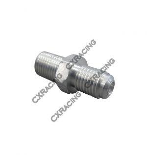 CX Racing Oil Feed Cap bolt + AN4 fitting For 86-98 Supra 1JZGTE 2JZGTE 1JZ 2JZ Single Turbo