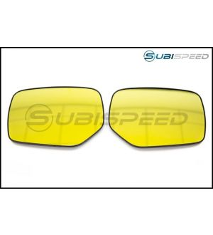 OLM Heated Wide Angle Convex Mirrors Gold Edition - 2015+ WRX / STI