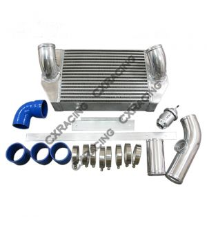 CX Racing Intercooler and Radiator V-Mount Kit For RX7 FD