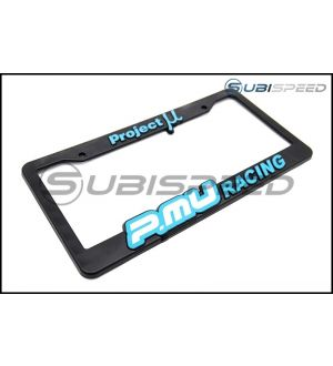 Project Mu License Plate Frame