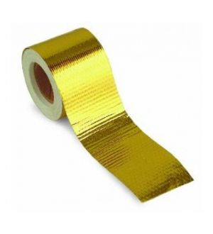 ProSport Gold Reflective Heat Tape 2in x 15ft Roll