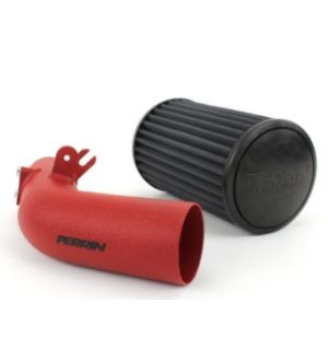 PERRIN Cold Air Intake Red- Subaru WRX 2008-2014 / STI 2008-2015