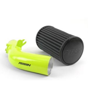 PERRIN Cold Air Intake Neon Yellow - Subaru WRX 2008-2014 / STI 2008-2015