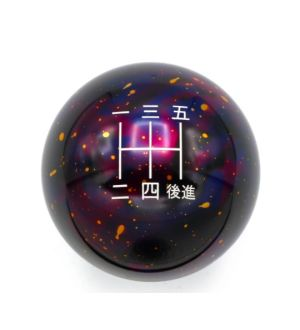 BilletWorkz Purple Cosmic Space 5 Speed Japanese Shift Knob