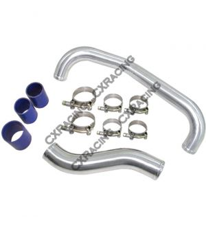 CXRacing Turbo Intercooler Hot Pipe + Air Intake Pipe For 89-94 Nissan 240SX S13 SR20DET Engine