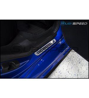 Subaru JDM Metal Door Sills - 2015+ WRX / 2015+ STI