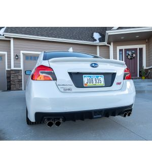 STICKERFAB SPECIAL EDITION DARK SMOKE STEALTH VERSION ZERO TAIL LIGHT OVERLAYS 2015-2021 Subaru WRX & STI