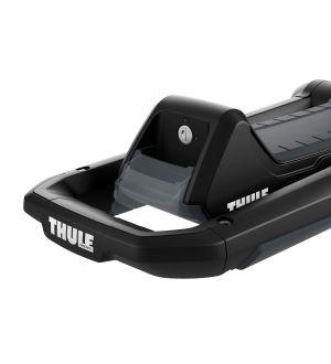 Thule Hull-A-Port Aero Kayak Carrier (Thule SquareBars Req. Adapter) - Black