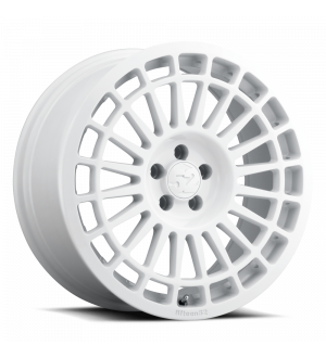 fifteen52 Integrale 17x7.5 4x98 35mm ET 58.1mm Center Bore Rally White Wheel