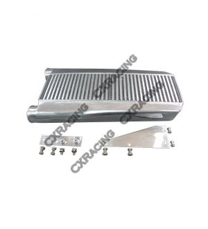 CX Racing Intercooler + Mounting Brackets For 1979-1993 Fox Body Ford Mustang V8 5.0