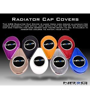 NRG Innovations Radiator Cap Cover - Chrome Gold Dip