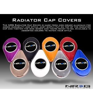 NRG Innovations Radiator Cap Cover Multi Color
