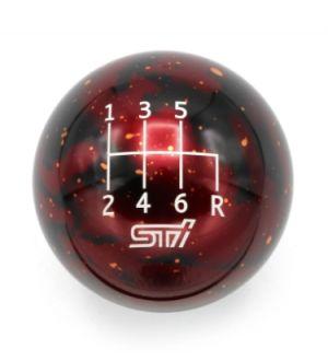 BILLETWORKZ RED COSMIC SPACE - 6 SPEED STI ENGRAVING - 6 SPEED STI FITMENT - SPHERE