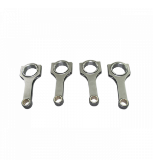 CX RACING H-BEAM CONNECTING RODS FOR TOYOTA 1NZ 140.9MM ROD LENGTH 4PCS