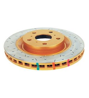 DBA 4000 Series Drilled/Slotted Front Rotor SIngle
