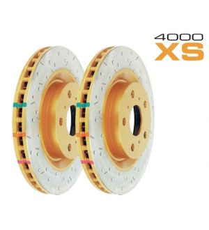DBA 4000 Series Drilled/Slotted Front Rotor Pair