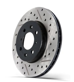 Stoptech Drilled and Slotted Rotor Single Front Left