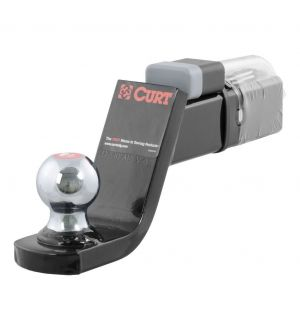Curt Towing Starter w/2in Kit Ball (2in Shank 7500lbs 4in Drop)