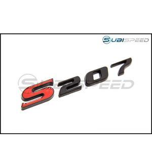 RSP S207 Emblem - 15+ WRX / STI